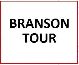 Branson Tour ($100 Deposit) on September 9-14, 2018