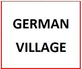 German Village on August 11, 2020