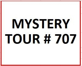 Mystery Tour # 707 on July 6, 2018