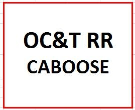 OC&T Railroad, Sleeping in a Caboose (Double Occupancy) on June 29-30, 2019