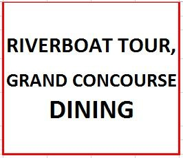 Riverboat Tour, Grand Concourse Dining on July 10, 2019