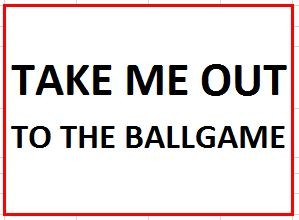 Musical in Sugarcreek - Take Me Out to the Ballgame on July 19, 2017