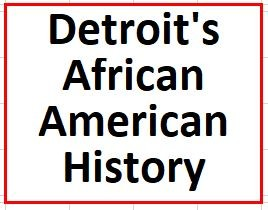Detroit's African American History on July 28, 2020