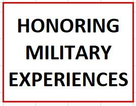 Honoring Military Experiences in Columbus on September 3, 2020