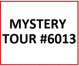 Mystery Tour #6013 (Double Occupancy) on July 31-August 2, 2019