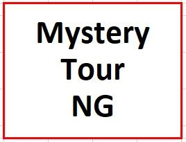 Mystery Tour NG on October 8, 2020
