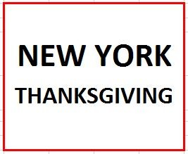 New York City Thanksgiving Tour (Double Occupancy) on November 21-24, 2018