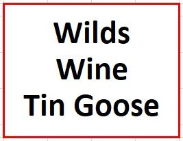 Wilds, Wine and a Tin Goose on June 25, 2019